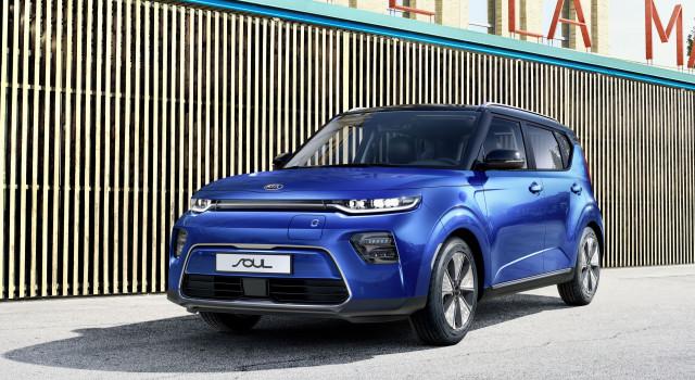 Le Kia e-Soul tout électrique fera ses débuts européens à Genève : 452 km d'autonomie (cycle mixte WLTP)