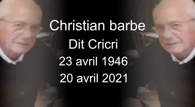 Christian Barbe dit Cricri