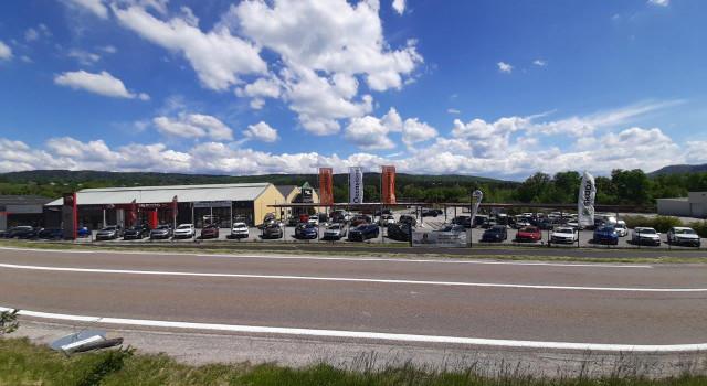 Plus grande plateforme véhicules d'occasion du Haut-Jura